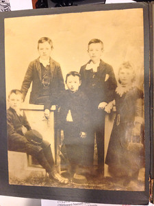Carl Martin Naeseth & siblings