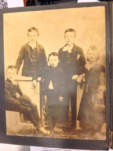 Carl Martin Naeseth & siblings