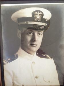Howard Naeseth in the Navy