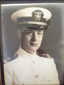 Howard Naeseth in the Navy