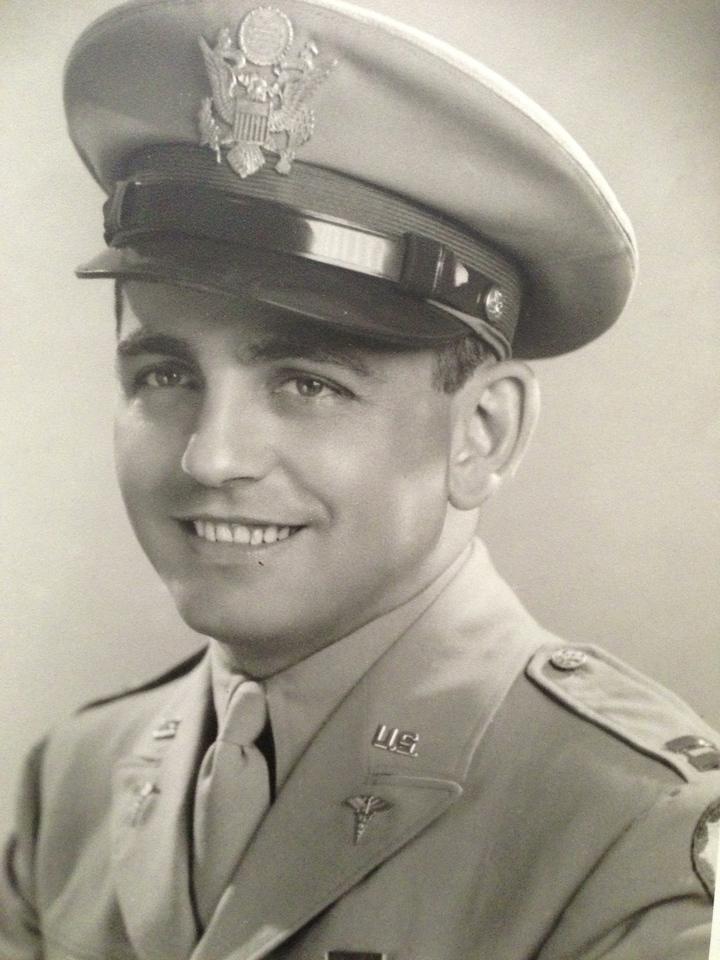 Herman, WWII (grandpa Bob's brother)