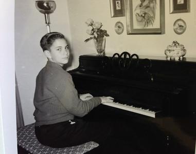 David (age 12) at piano
