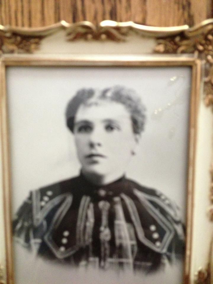 Fanny (Bernstein) Diskin, David's grandmother
