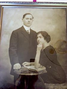 David's (maternal) grandmother Lena Last and biological grandfather Israel Kurtz