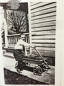 (Grandpa) Bob Diskin (age 11, S. Glens Falls, NY)