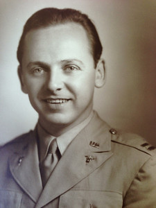 (grandpa) Bob Diskin (WW II)