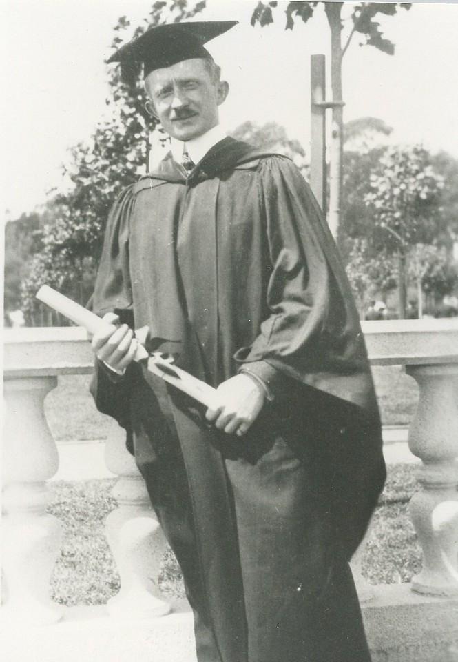 1917 Frederick L Stein -  UC Berkeley Grad