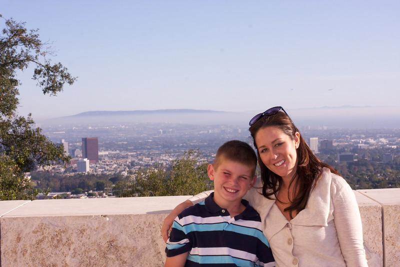 Ethan, Melissa, and my trip to the Getty