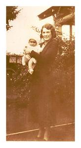 Edna Wright (Vera's sister). Restored