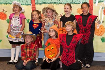 First Grade Halloween Play-0982