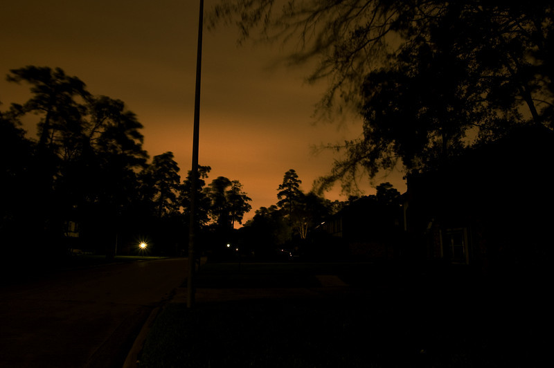 A long exposure looking at the storm rolling in.