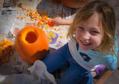 Pumpkin carving-5371