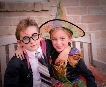 CC and Patrick Halloween-5118