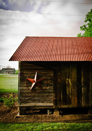 Architectural Detail, Shed, Chappell Hill-7708