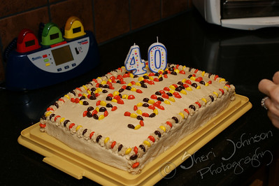 Johnnie's 40th bday cake