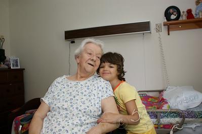 Ashley with Grandma Forrest (great grandma)
