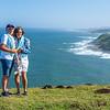 Judy & Howard, the Cliffs, Morgan Bay