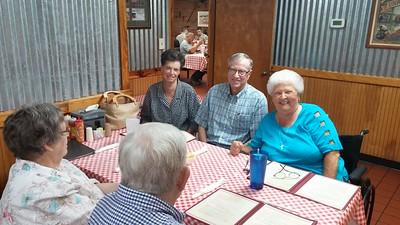 Doris (Trexler) and Frank Kluttz with Jane (Fink) Troutman