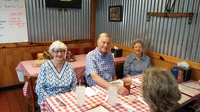 Betty (Fink) Eury , Lee Trexler, and Barbara Fink