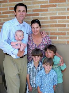 Jim & Heidi, and the boys