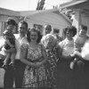 Gary, Don Sr., Barbara, Harry, Emma, Ina, Tommy and Homer<br /> July 16,1950, at the house in Bell