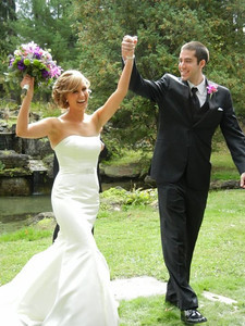 just married, Vanessa & Kevin 9/29/12