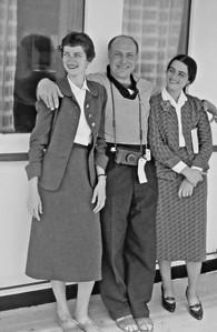 Marian, David, Shoshana, ZIM line, Marseille to Haifa, April 1959