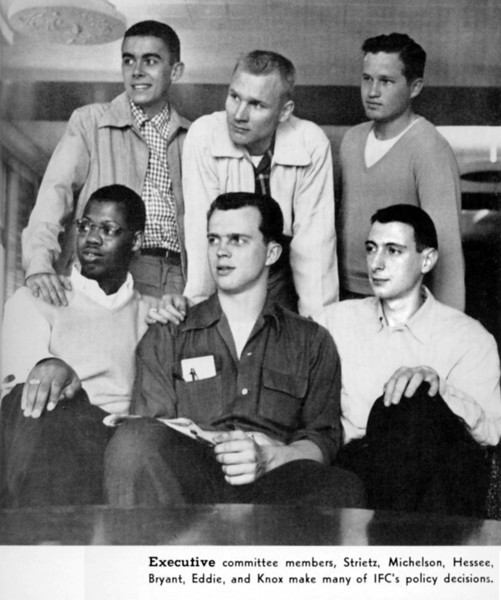 Univ of Minn Inter-Fraternity Council, 1955, age 19