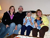 Mom, Dad, Great Grandma, Mason & Grandma