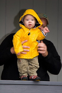 Paul in his rain coat