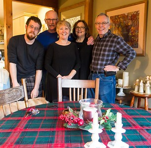 Christmas 2017 with Therese and Bob