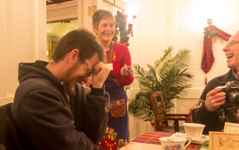 Christmas 2017 with Therese and Bob