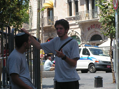 In Jerusalem Aug 2005