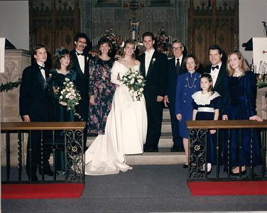 Caroline & Chris' Wedding 12/28/91