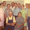 Andrew & Esther Beachy Family - Circa 1966<br /> Martha, Levi, Abe, John, Daniel, Albert, Verna, Sovilla, Edward<br /> Andrew, Esther
