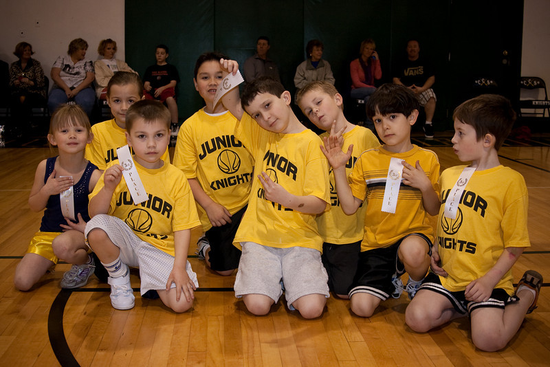 Columbia Christian Junior Knights Basketball