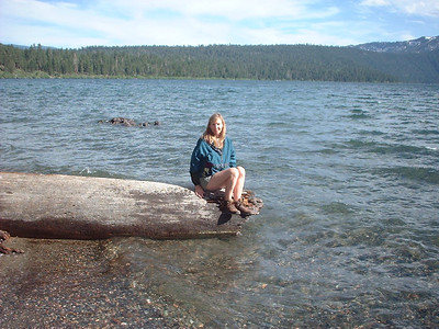 Fallen Leaf Lake mermaid