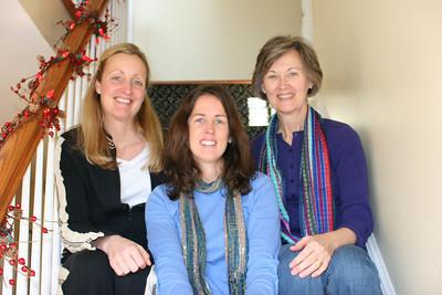 Caroline, Catherine and Melanie