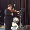 Michael playing viola for NOCCA strings recital - April 21, 2012