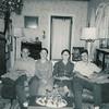 Abe Beachy, Zoann Lambright, Theda Lambright, Daniel Beachy - circa 1965