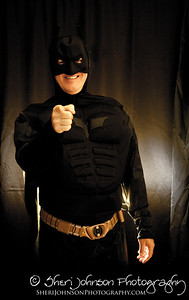 Tony as Batman for a Halloween Party 2012