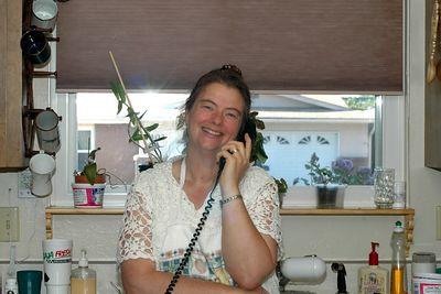 Jenny in her kitchen in Boise