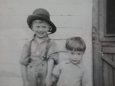Levi and Abe Beachy - circa 1946