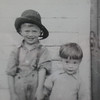 Levi and Abe Beachy - circa 1946