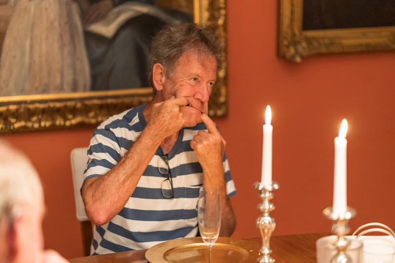 Birthday dinner for Christine and Rudi