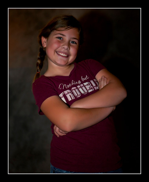 Ms. Camilly Watson - the smile and shirt says it all....