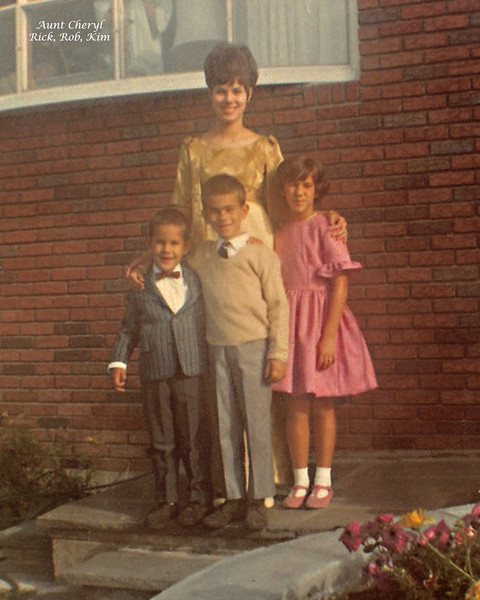 From left to right my brother Rick, me (Rob), Kim and my cousin Cheryl in Binghamton NY.