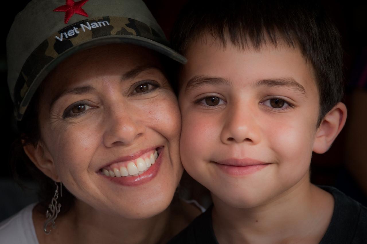 Janet & Sammy, Sapa, Vietnam Sept 2009