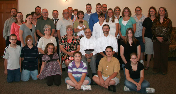 The entire Melvin Lambright family - September 2007.