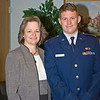Holly Anne and Kyle - promotion to captain
